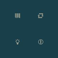 Иконки для панели интерфейса