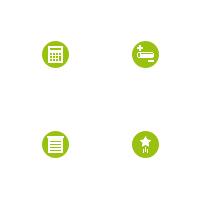 Иконки для сайта по постройке домов с бревен,сруба