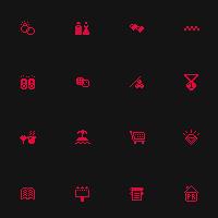 Иконки для навигационной карты.
