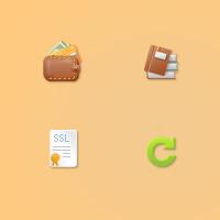 Иконки для хостинг-сервера.