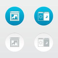 Иконки для интернет-магазина жалюзей,ворот