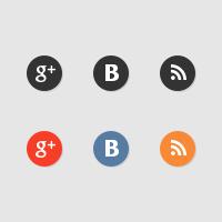 Иконки соц. сетей