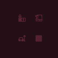 Иконки для сайта по продаже домашней фурнитуры
