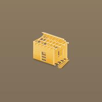 Иконки для сайта по строительству домов со сруба