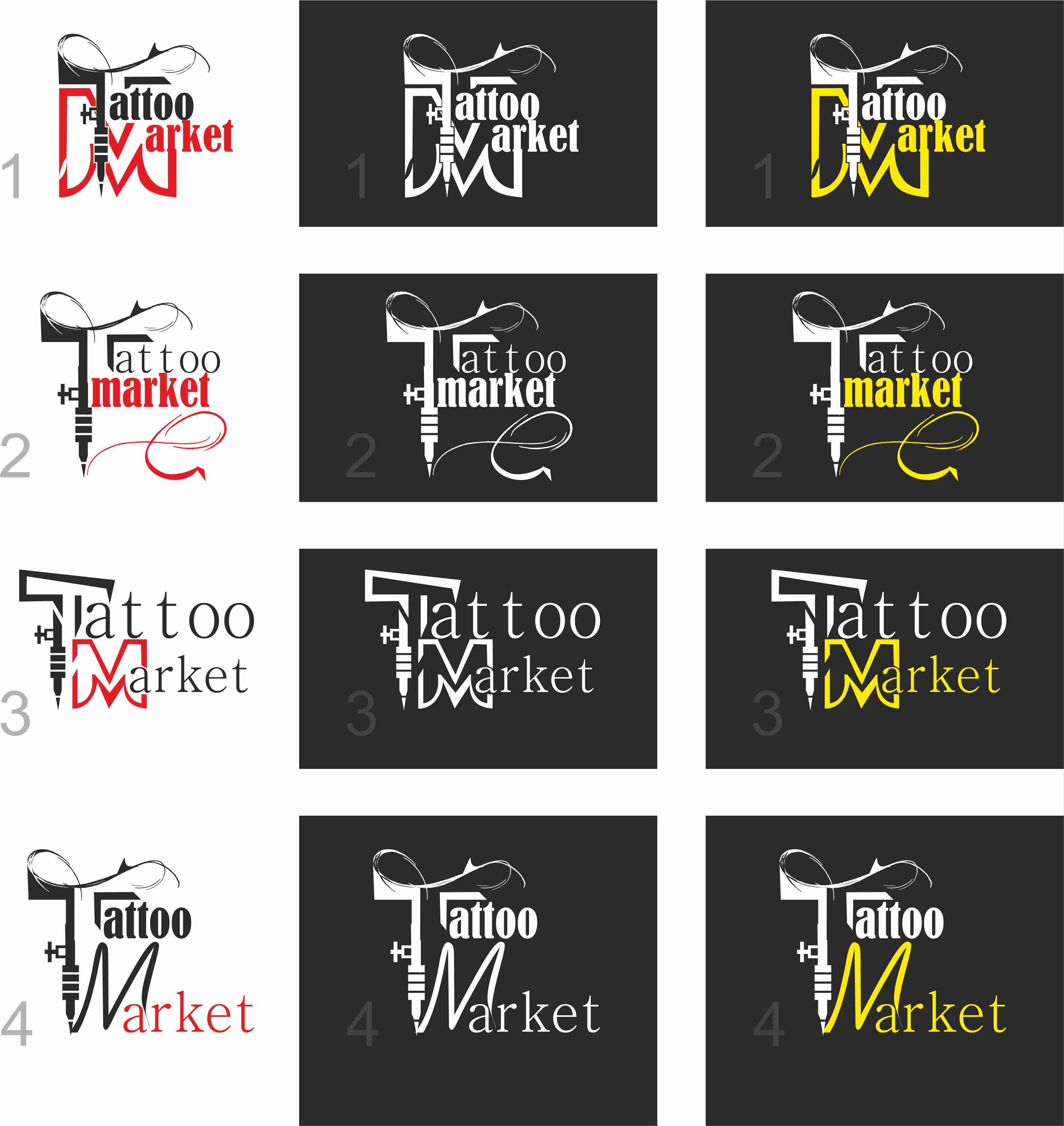 Редизайн логотипа магазина тату оборудования TattooMarket.ru фото f_6535c39d0dd9a57d.jpg