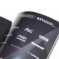 Буклет компании «RTVi»