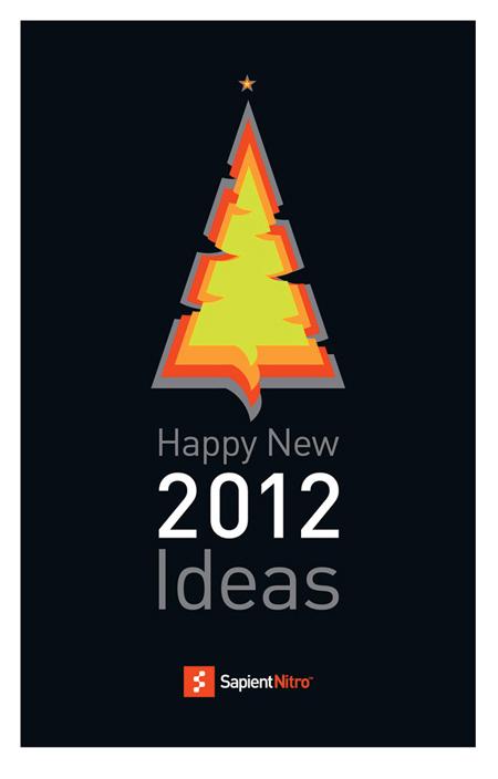 Новогодняя открытка SAPIENTNITRO 2012