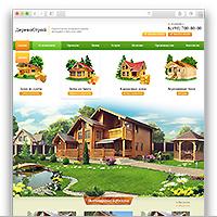 ДеревоСтрой / Строительство деревянных коттеджей и бань