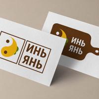 """Лого """"ИньЯнь"""" Доставка еды"""