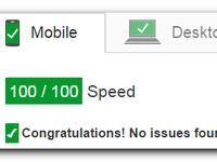 Оптимизация сайта под google pagespeed (в зеленую область)