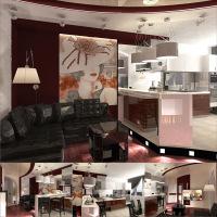 Гостиная-студия Москва