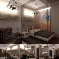 Спальня коттедж МО