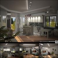Гостиная-кухня-(Севастополь)