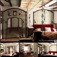 Спальня-витраж-(Москва)