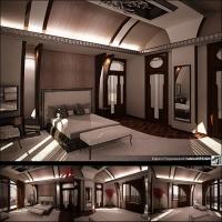 Спальня-мансарда-коттедж-(Москва)
