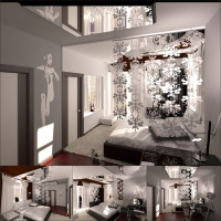 спальня таунхаус (Москва)