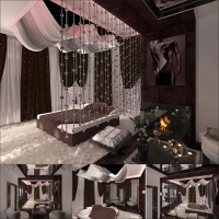 спальня 2 таунхаус (Москва)