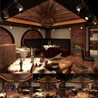ресторан зал караоке