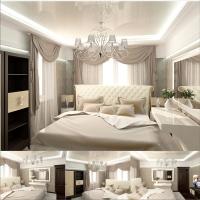спальня коттедж