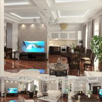 Гостиная коттедж Севастополь