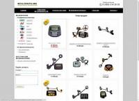 Заполнение интернет-магазина инструментов металлоискателей