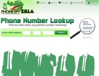 CoderIgniter: Сайт Phone Spy Zilla