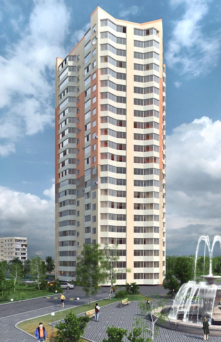 22-этажный дом в Александрове