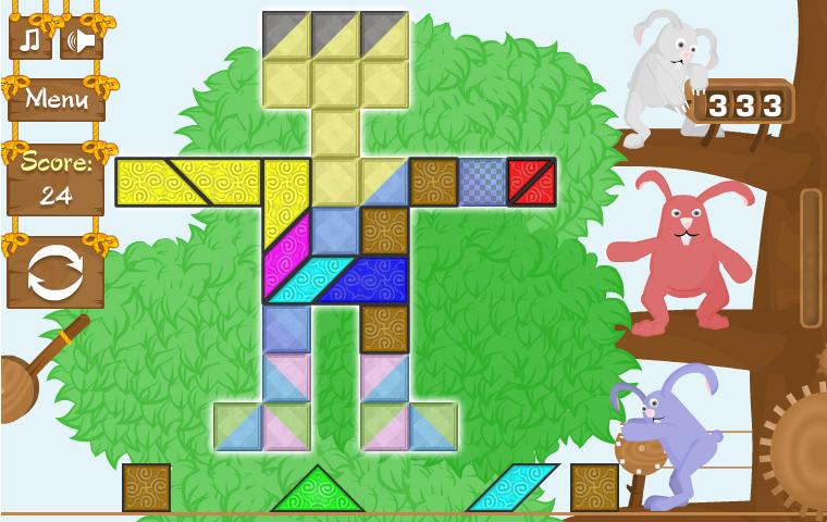 3 Rabbits' Puzzle