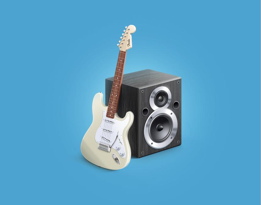 Иконка «Музыкальные товары»