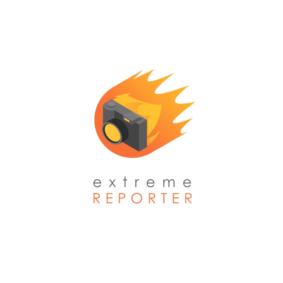 Логотип для экстрим фотографа.  фото f_0375a550f9d63883.jpg