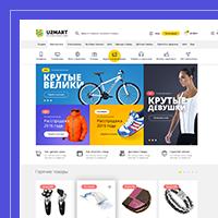 Дизайн интернет-магазина U2MART