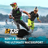 Дизайн лендинга аренда Jet Surf - TJS