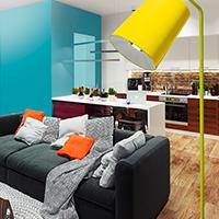 Дизайн лендинга по ремонту квартир