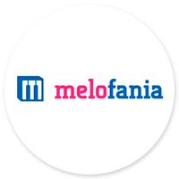 Дизайн сайта по созданию рингтонов в Калифорнии melofania.com