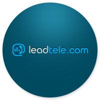 Дизайн лендинга для компании leadtele.com