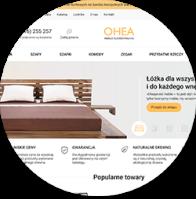 Разработка польского интернет-магазина мебели OHEA