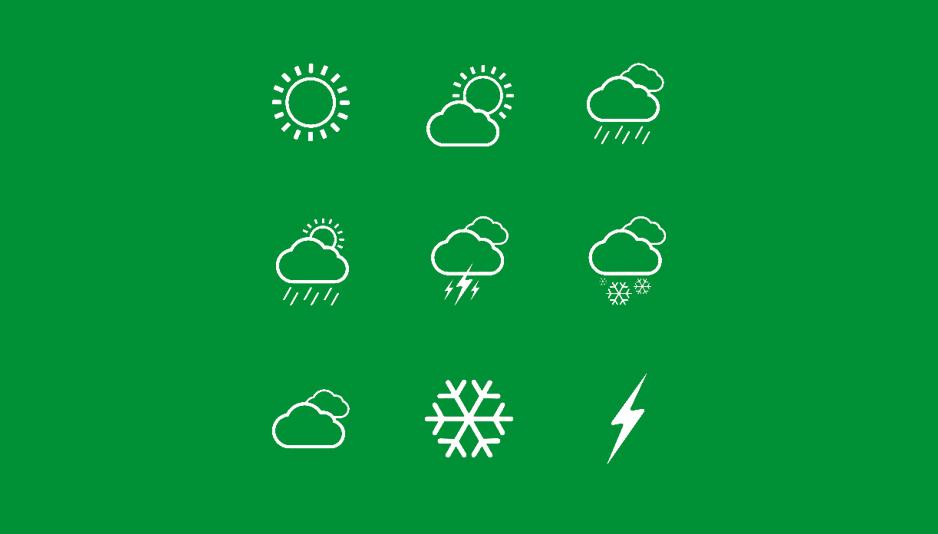 Иконки погоды