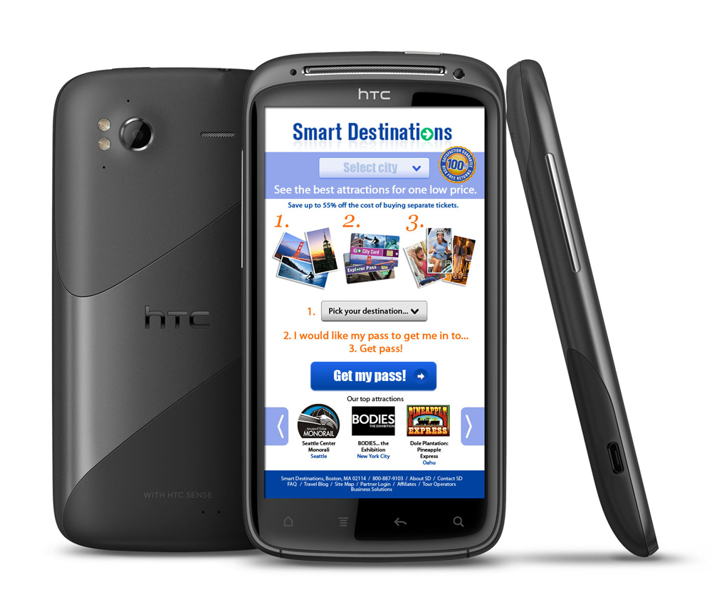 Smart Destinations mobile