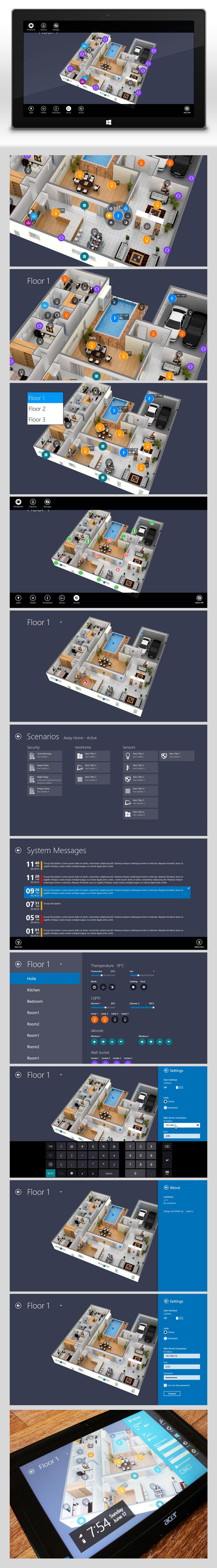 Умный дом | Windows 8