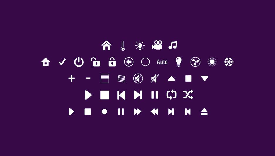 Набор иконок для умного дома