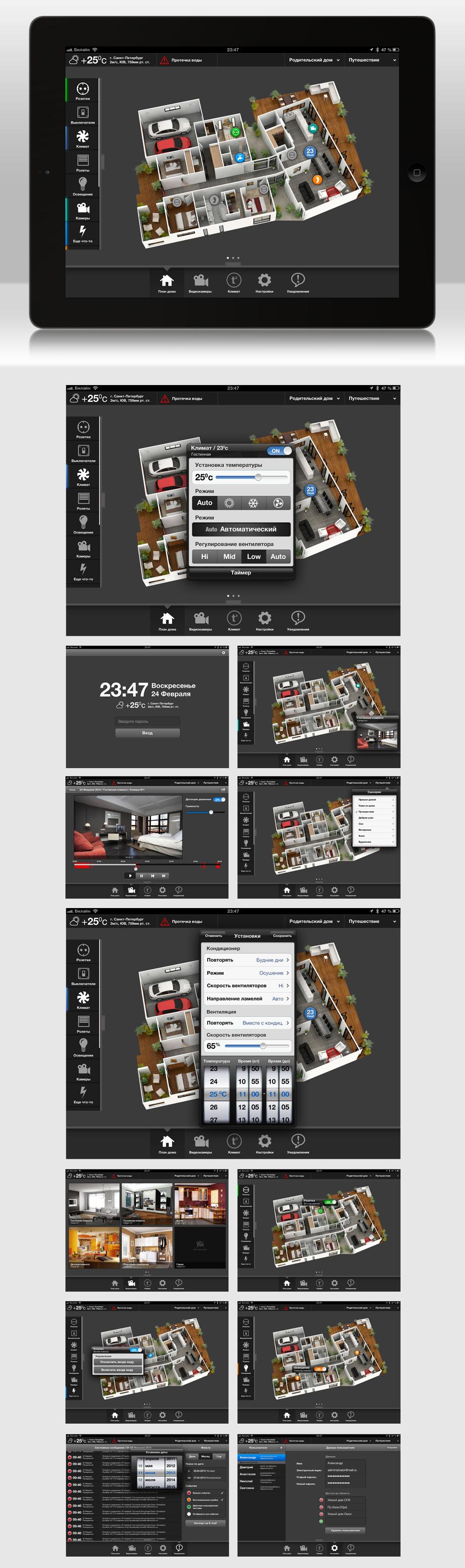 Умный дом | iPad