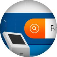 Дизайн интерфейса сервиса «Все работники» для сенсорного инфокиоска