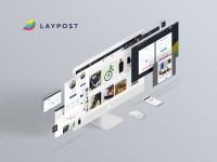 UI/UX дизайн интерфейсов сервиса LAYPOST
