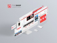TooShop - UI/UX дизайн торговой площадки