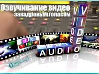 Озвучивание видео закадровым голосом