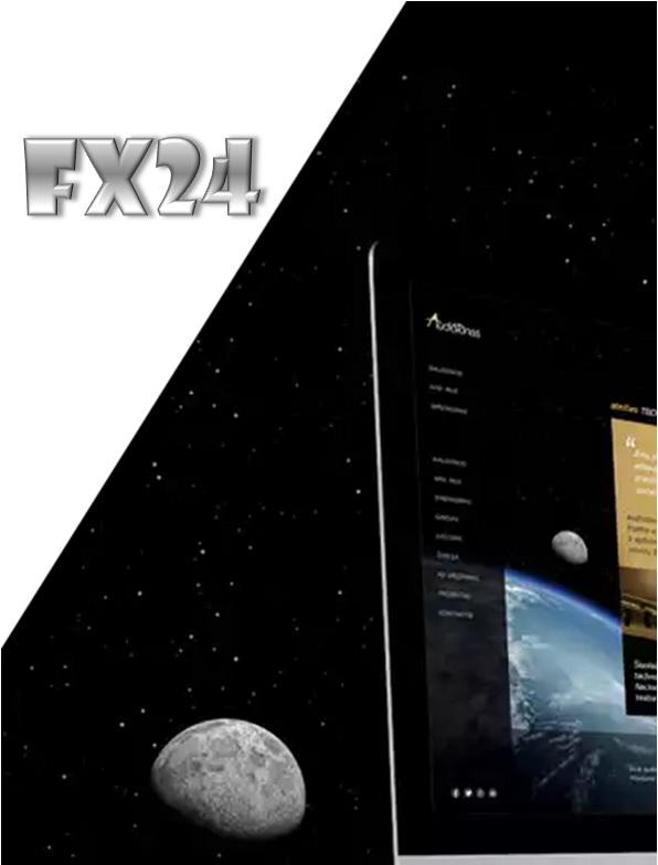 Разработка логотипа компании FX-24 фото f_300546112702d150.jpg