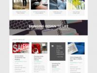 Создание сайта-визитки на wordpress на основе премиум шаблона