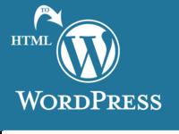Натяжка/установка готовой html верстки на wordpress
