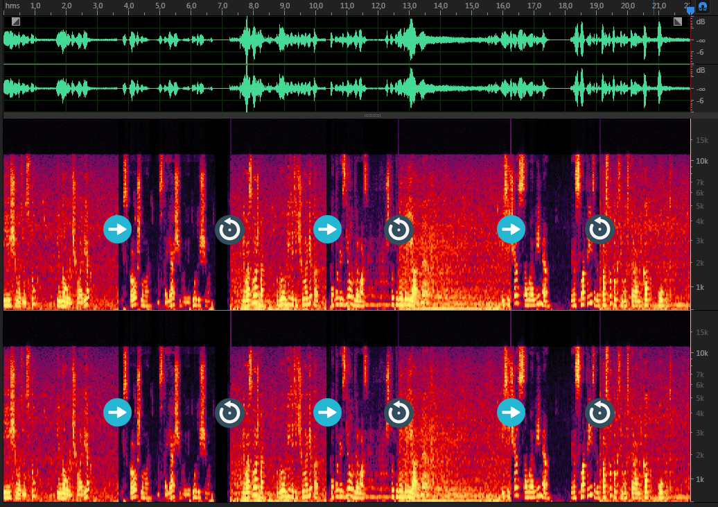 Очистка записи от шума