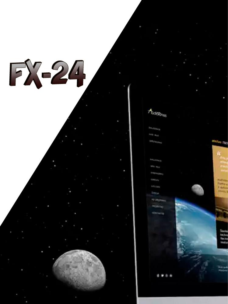 Разработка логотипа компании FX-24 фото f_099545dd77fcfc71.jpg